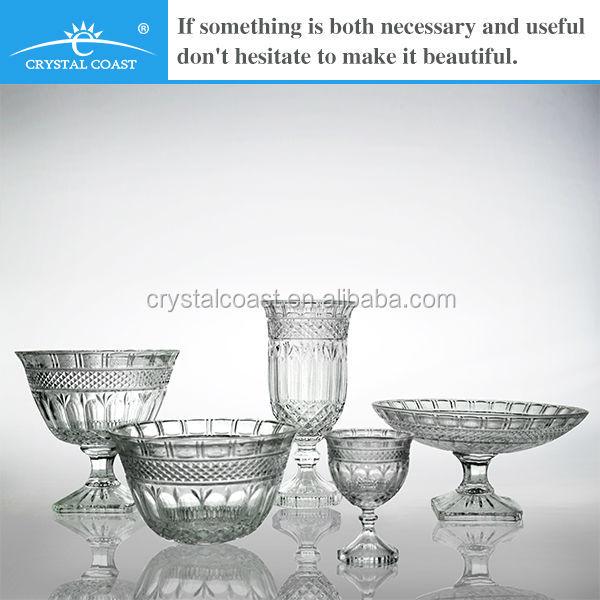 claro t light porta vasos altos jarrones de cristal barato con pie