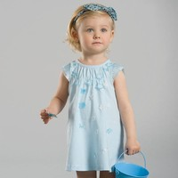 DB2111 dave bella 2015 summer floral dress baby dress girl dresses kid clothes child dress summer dress girls party dresses