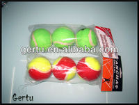 2015 new 3pcs pack 2.5 inch promotional tennis ball