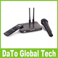 RK3288 Quad Core 2GB 8GB RJ45 CS4K Karaoke Microphone Android TV Box