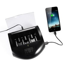 18650 Universal Li-ion Battery Charger /External Intelligent USB Battery Charger RC997