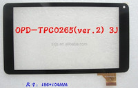 OPD-TPC0265(ver.2) 3J New Digitizer Glass for Black Touch Screen 60 days warranty