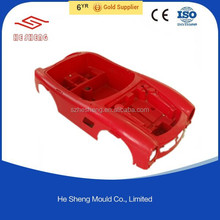 injection mold plastic component
