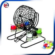 Madera juego de bingo set / tombola juego de bingo set / bingo juego de mesa