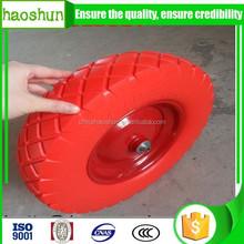 wheelbarrow pu foam wheel /tire 4.00-8 with high quality 16 inch durable