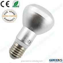e27/e14 r63 high power 600lm lighting ever 7w 5000k candelabra led bulb