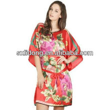 New Arrival Fine Artificial Silk Nightclothes Worthy Dresses