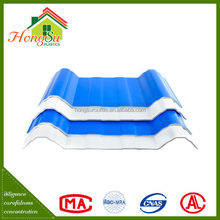 The three Layer chinese roof tiles,plastic tile roofing prices,plastic roofing material