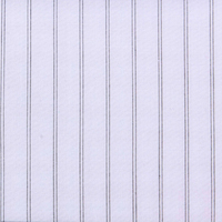 100% combed cotton ,stock stripe shirting ,cheap garment woven fabric,
