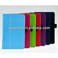 Litchi Pattern PU Stand Leather Case Protector Cover for Lenovo IdeaTab S5000 7 Inch Tablet PC Case