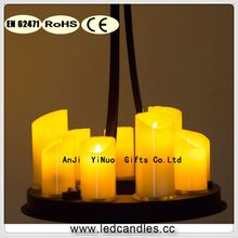 14-real wax candle Light-Rubbed Bronze Chandelier