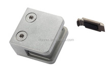Zinc Alloy D type wall mounted glass clamp
