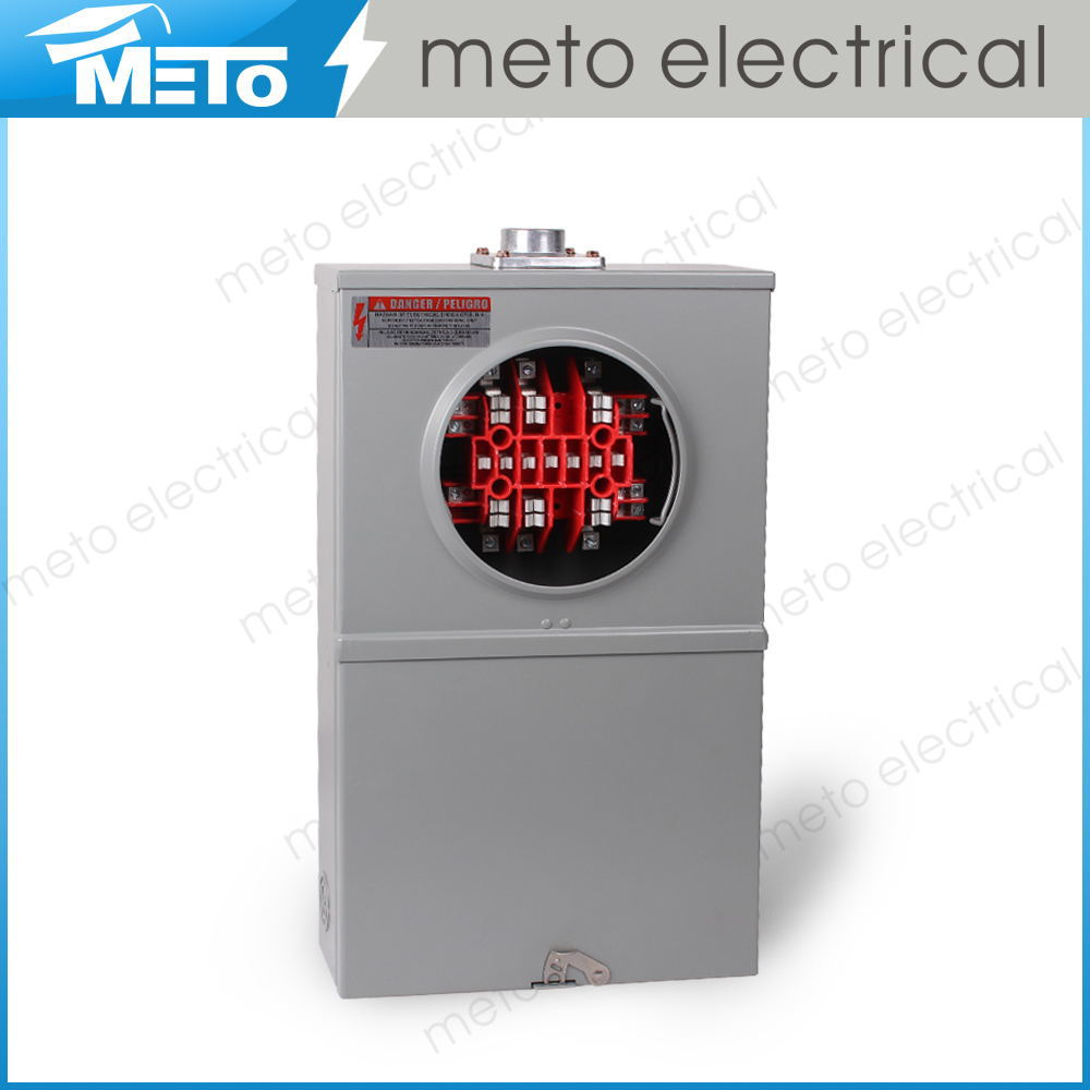 Electrical Phase Meter : Meto a single phase general electric power meter base