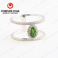 Wholesale Momen Ring with Gemstone 925 Sterling Silver Ring