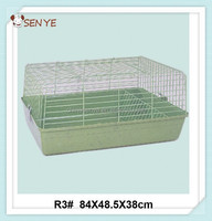 Cheap rabbit breeding cage,indoor plastic rabbit cage trays