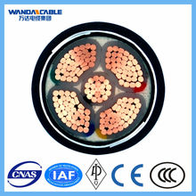 underground electrical armoured cable 5 core power cable 35mm 50mm 70mm 95mm 120mm 240mm power cable