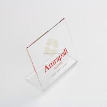 Clear Acrylic Nameplate Acrylic Signage Acrylic Logo Display
