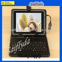 Hot & Cheap 7 inch Tablet Keyboard Cover Cases for Android Tablet