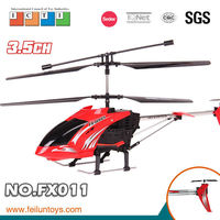 2.4G 3.5ch gyro metal rc helicopter 9961 with lights and gyro