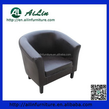 high quality leather tub chair