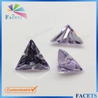Lavender Synthetic Diamond Powder CZ Gems Uncut Tourmaline for Gem Suits