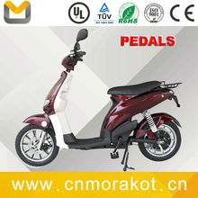 CE 48V 350W/500W 32~38KM/H Electric scooter/Electric bike with pedals --LS4