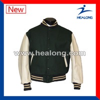 wholesale custom made varsity jacket