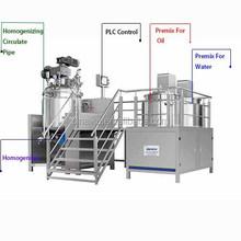 Hot sale vacuum homogenizer without hydraulic