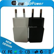 High quality certificate EU power adapter 5v 1a USB power adapter