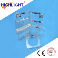 Highlight retail security display S010 alarming safer box with lock