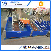 PVC fence New design poultry farrowing crate / crate for pigs / pig cage for sale