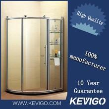 Aluminum Frame Design 10mm Air Shower Room For Hotel