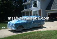 2015 newly plastic disposable car cover