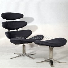 De cuero Real poul volther Corona fabricante de sillas