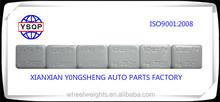 Fe adhesive /sticker wheel balancing weights Hot sale in Europea
