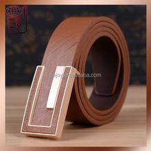 2015 New Designer Faux Leather Unisex Men/Women Belts, Letter Buckles Strap waistband