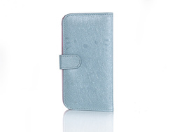 Cute PU leather/leather mobile phone case for iphone