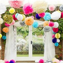 Factory make crepe paper flowers for christmas