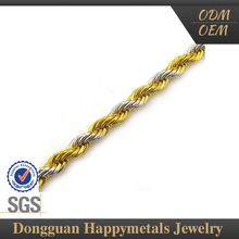 Various Design Xp Jewelry Gold Chain With Sgs Certification