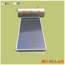 elegant solar system flat panel hot water equipment