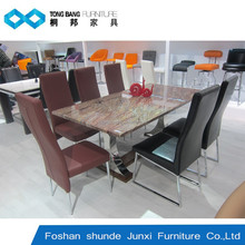 TB 2015 marble table home furniture 8 seater dining table furniture
