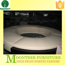 Moontree MSF-1187 imported genuine leather round sofa