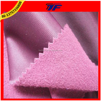 100% Polyester 220GSM Tricot Brushed Fabric