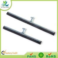 Iron Handle floor squeegee with double eva rubber