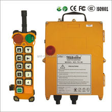 F24-10D Portable and Lightweight Single Speed Industrial Radio Wireless remote control for crane electric hoist