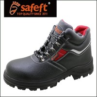 China shoe factory steel toe industrial safety shoes , leather safety boots