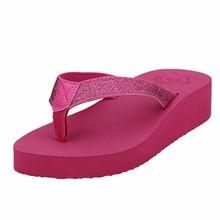 2015 Wholesale summer swimming EVA platform sandal women slippers flip flop
