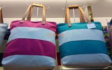 New Women Ladies Day Canvas Summer Beach Tote Shopping Bag Handbag