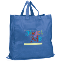Promotional high quality grocery pp non-woven bag