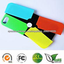 magia y fácil de cambiar colores accesorio móvil vendedor caliente para iPhone5 caso